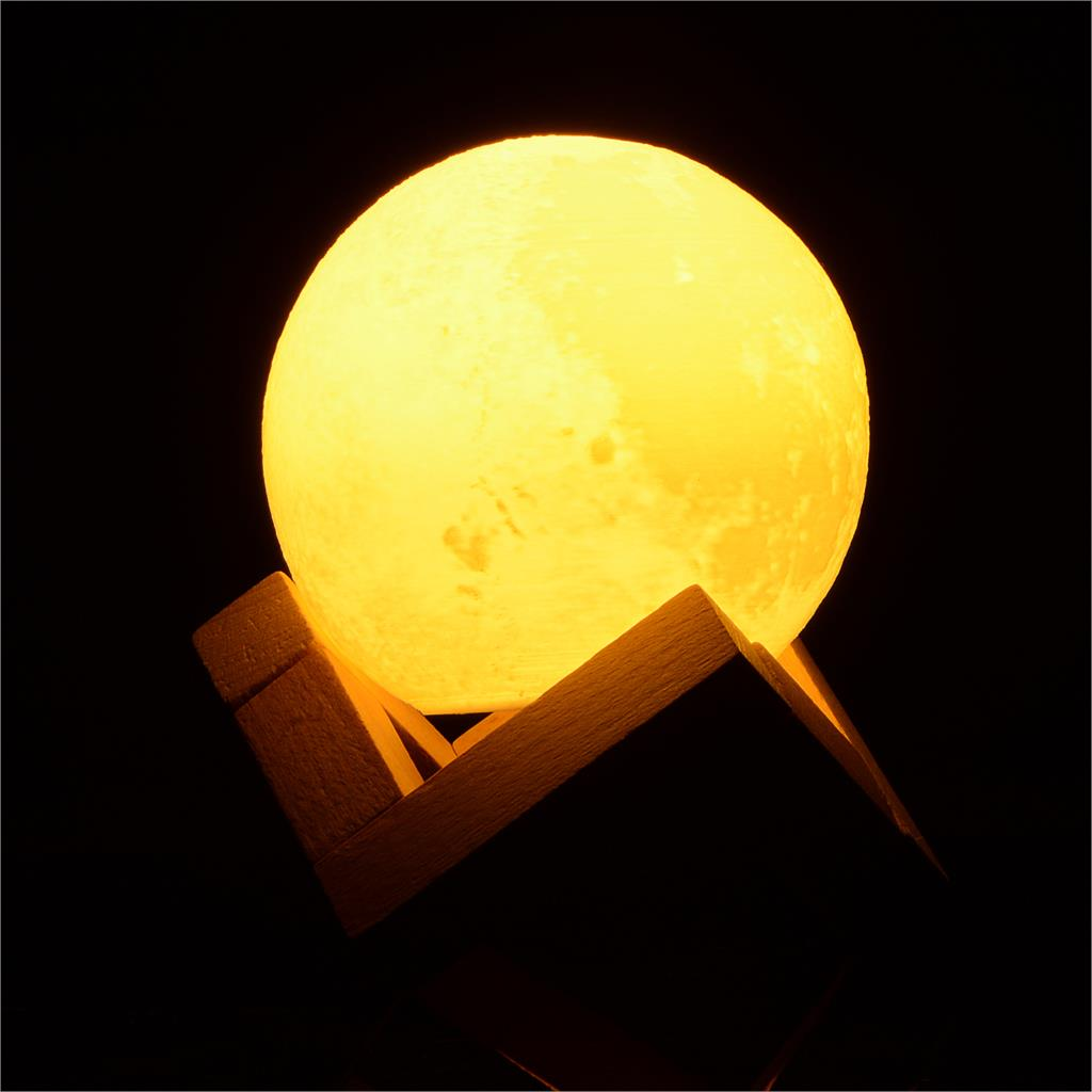 3D Light Full Moon Light Print Simple Personality Lunar Lamp Creative Desk Lamp Lights For DIY Decoration Dia 8/10/15cm