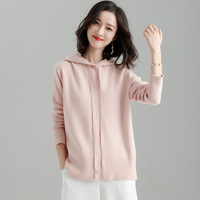2018 Polyester Jumper Full Pullover Thickening, Sweater, Knitted Women's Sleeves, Sleeved Sport, Loose, Thin, Big Size Sweater.