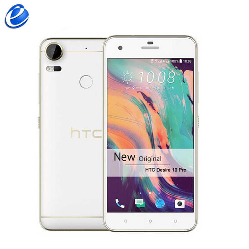 """HTC Desire 10 Pro 5.5 """"inch Dual SIM Qcta Core Android 20MP 4 GB RAM 64 GB ROM 4g lte Vân Tay ban đầu mở khóa điện thoại thông minh"""