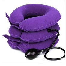 Early health cervical traction apparatus household inflatable neck massage cervical neck therapeutic neck guard cases