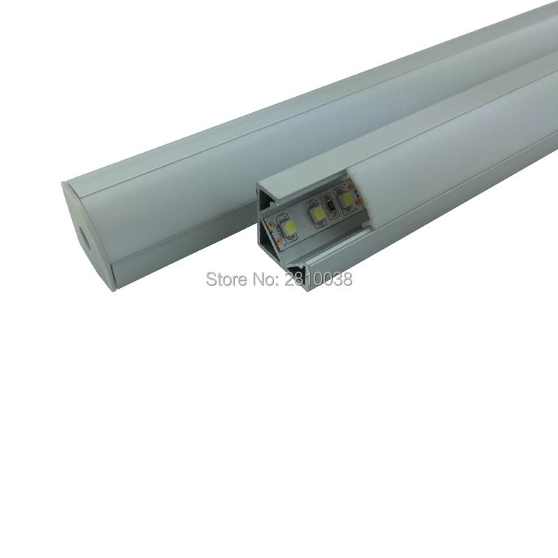 100 X 1M Sety / Sada hliníkových profilů s hliníkovým profilem - LED Osvětlení