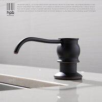 HPB Oil Rubber Bronze Countertop Kitchen Soap Dispensers Built In Soap Dispensers Detergent Bottle Pump For