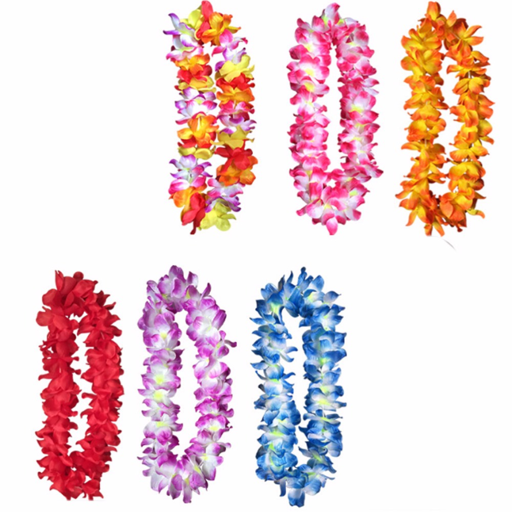 6 pcslot pre kindergarten toys hawaiian ruffled simulated silk 6 pcslot pre kindergarten toys hawaiian ruffled simulated silk flower leis b366 in artificial dried flowers from home garden on aliexpress mightylinksfo