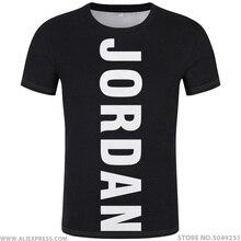 JORDAN t shirt diy gratis custom made naam nummer jor t shirt natie vlag land Hashemite Koninkrijk college print foto jo kleding