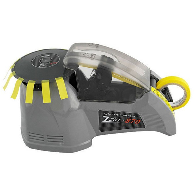 ZCUT-870-tipo de disco máquina de fita máquina de corte automático de fita adesiva largura 3-25mm