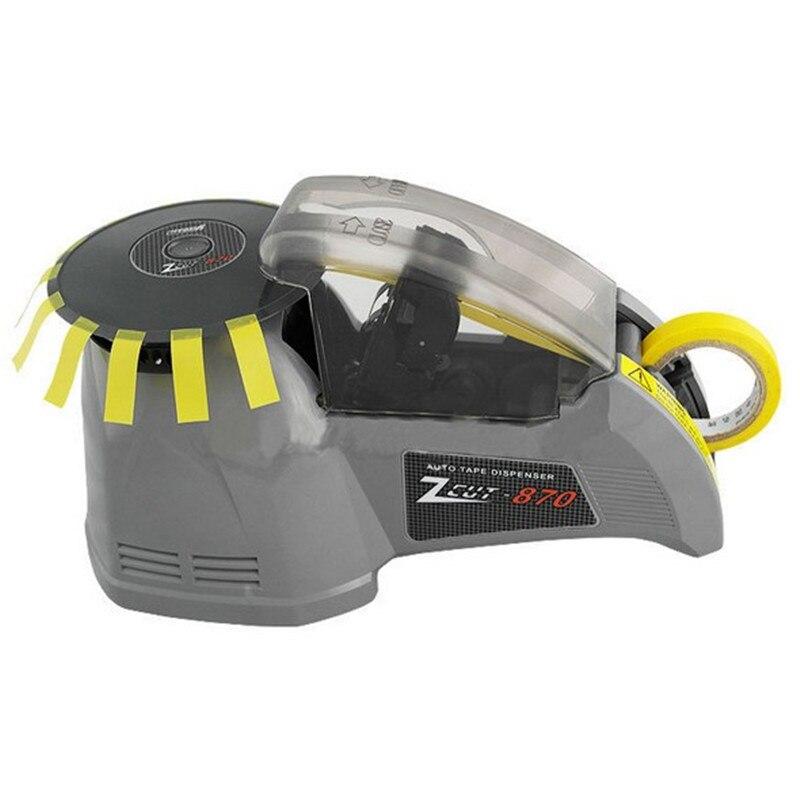 ZCUT-870 tipo disco cinta adhesiva máquina de corte automática máquina de cinta ancho 3-25mm
