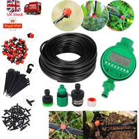 Automatic Drip Irrigation System Kit Plant Timer Self Watering Garden Hose Hot Plant Flowers Garden Supplies Watering Tool Set
