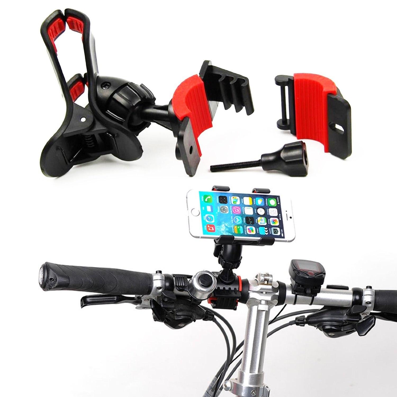 iFavor 2017 Universal 360 Degrees Rotating <font><b>Motorcycle</b></font> Bicycle Bike Cellphone GPS MTB Support Handlebar <font><b>Mount</b></font> Holder Mobile <font><b>Phone</b></font>