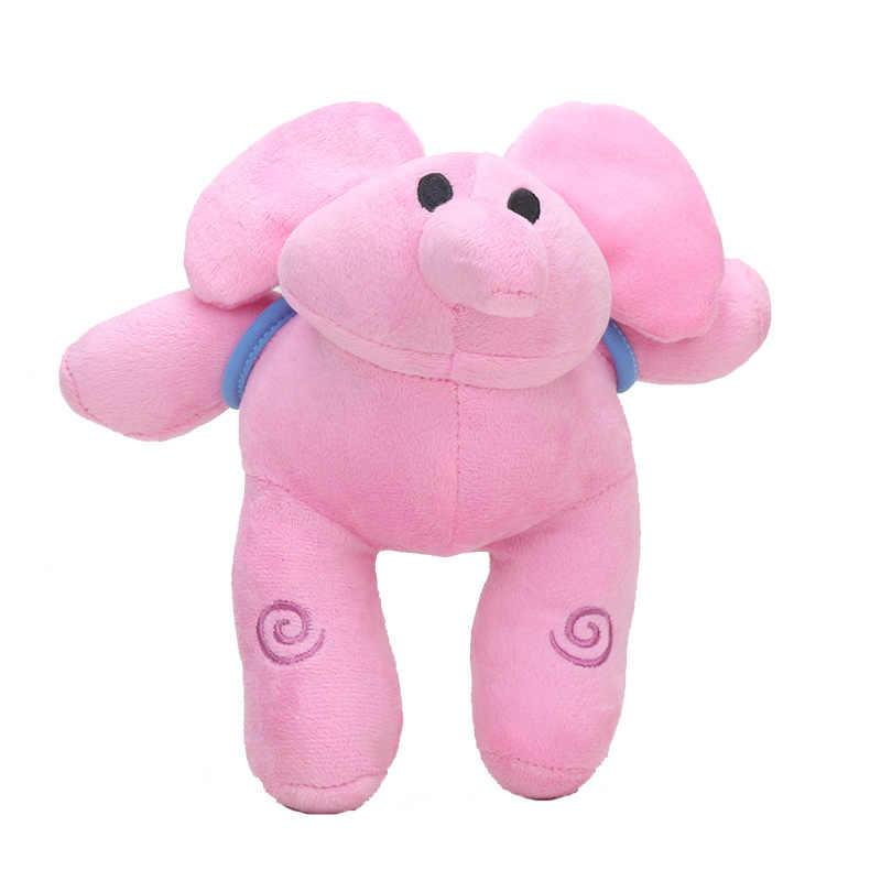 Animais Dos Desenhos Animados Pocoyo Brinquedos de Pelúcia Cão Pato Elly pato Loula pássaro Sonolento Bonito Elefante de pelúcia Boneca de Brinquedo de Pelúcia Para As Crianças do Presente