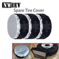 NWIEV 1X Car Spare tire cover Dustproof and Rainproof For Peugeot 207 508 Mitsubishi ASX Audi A 4 Citroen C4 C5 BMW Accessories