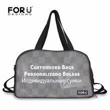 f8ab05b8955e FORUDESIGNS Customized Waterproof Gym Tote Bags Sport Handbags for Men Yoga  Mat Bags for Women Outdoor