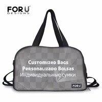 FORUDESIGNS Customized Waterproof Gym Tote Bags Sport Handbags for Men Yoga Mat Bags for Women Outdoor Shoulder Bags