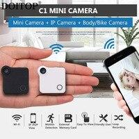 DOITOP C1 Mini Camera HD 720P Wifi IP Camera Camcorder Wireless Motion Dection P2P Digital Micro