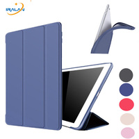 PU Leather Original Case For IPad Air 2 9 7 Inch Soft Silicone Stand Auto Sleep
