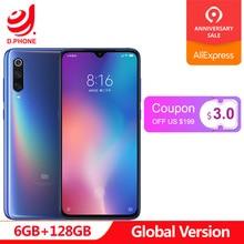 Global Version Xiaomi Mi 9 Mi9 6GB 128GB Snapdragon 855 48MP Triple Camera AMOLED Mobile Phone Fingerprint Wireless Charging NFC