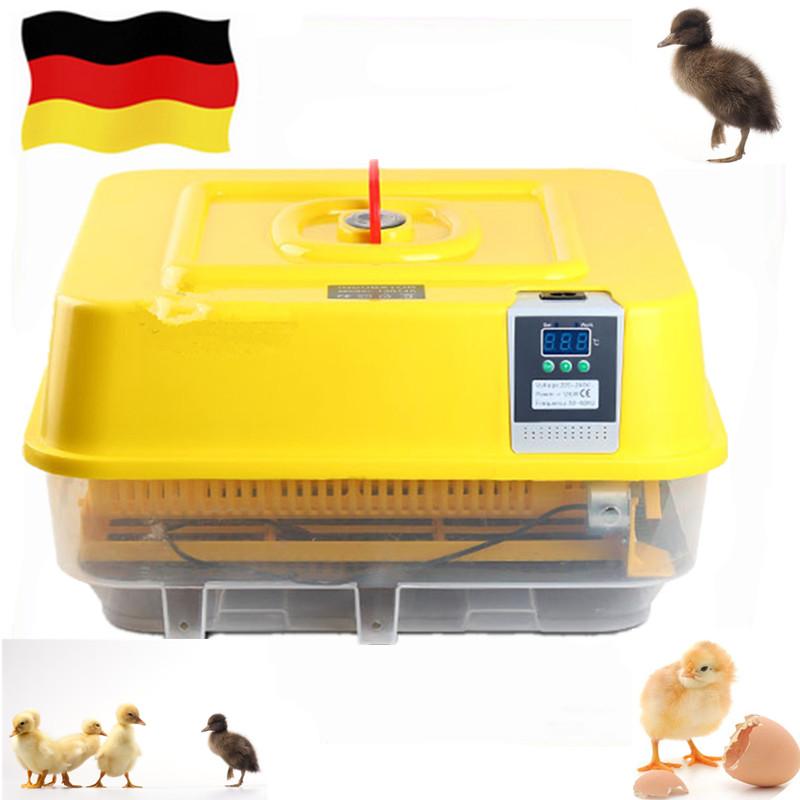 Household small 39 eggs incubator hatchery machine automatic chicken egg incubator hatching machine chicken brooding tool household mini small eggs incubator auto hatchers poultry hatching machine equipment tool electric chicken brooder