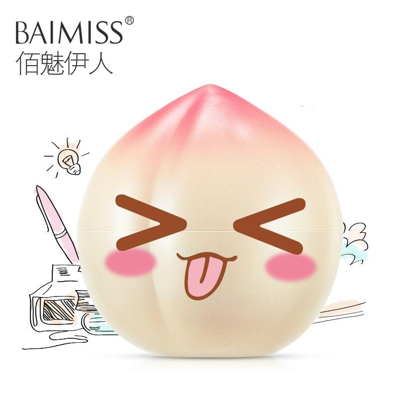 BAIMISS Peaches Hand Cream Nourishing Skin Care Anti Chapping Anti Aging Anti Wrinkle Moisturizing Whitening Cream