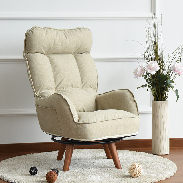 Living Room Arm Chair Spanish Contemporary Swivel Accent Home Furniture Reclining Folding Armchair Sofa Low For Elderly