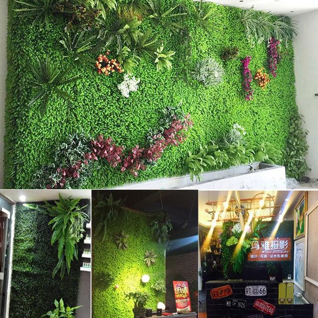 40 60 cm home decor vivid grass mat green artificial lawns plant 40 60 cm home decor vivid grass mat green artificial lawns plant wall wedding decoration junglespirit Gallery