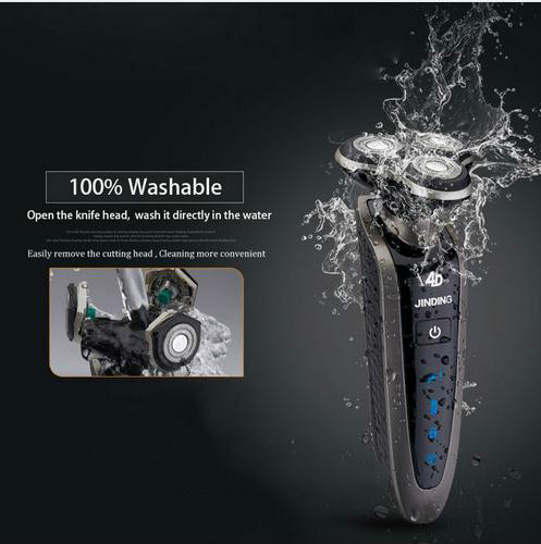 2016 New Original Men Shaving Machine 3D Waterproof Rechargeable Mens Electric Shaver Three Head For Philips