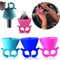 New Arrival 1pcs Nail Gel Bottle Holder Flexible Wearable Tips Display Stand Holder Art Manicure Tools