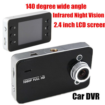 2.4 inch LCD Practical Car Auto Black DVR High Quality Camera Video Durable Recorder Protect G-sensor 140 degree wide angle image