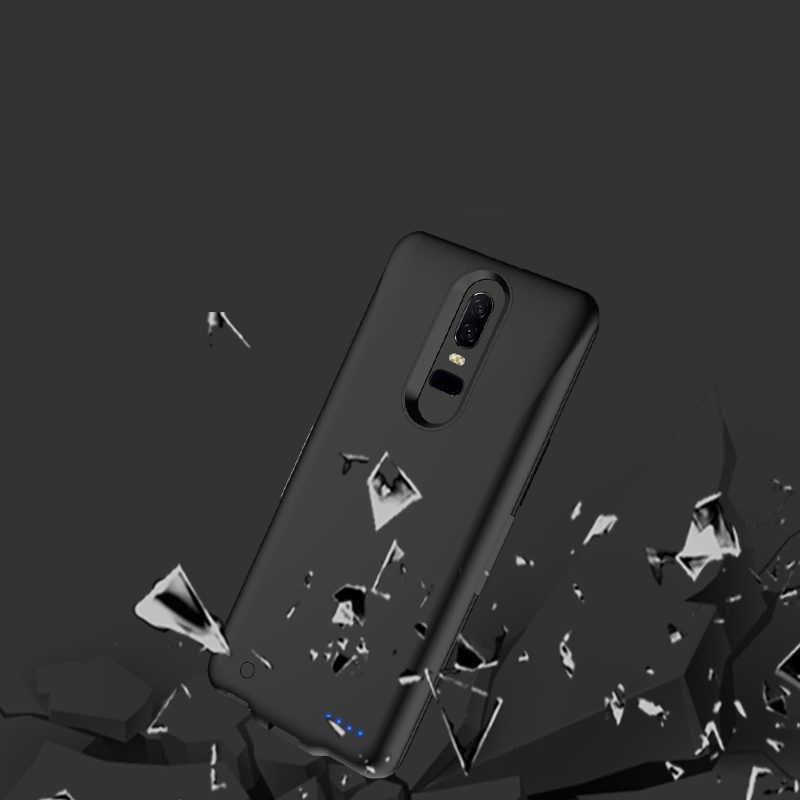 Slim chống sốc Pin dành cho Xiaomi Redmi 5 Plus Power Bank Ốp Lưng cho Xiaomi Redmi Note 4 4X Pro Sạc ốp lưng Ốp Lưng