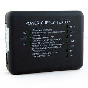 Image 2 - Kebidu מחשב ATX SATA HDD Power Supply Tester LED אינדיקציה 20 24pin PSU כלי אבחון בדיקות עבור האנודה קתודה