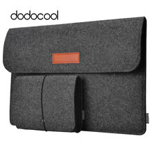 "Dodocool 12 ""13"" funda para portátil funda de manga de fieltro funda de transporte 4 compartimentos con bolsa de ratón para Apple 13 ""MacBook Air Pro(China)"