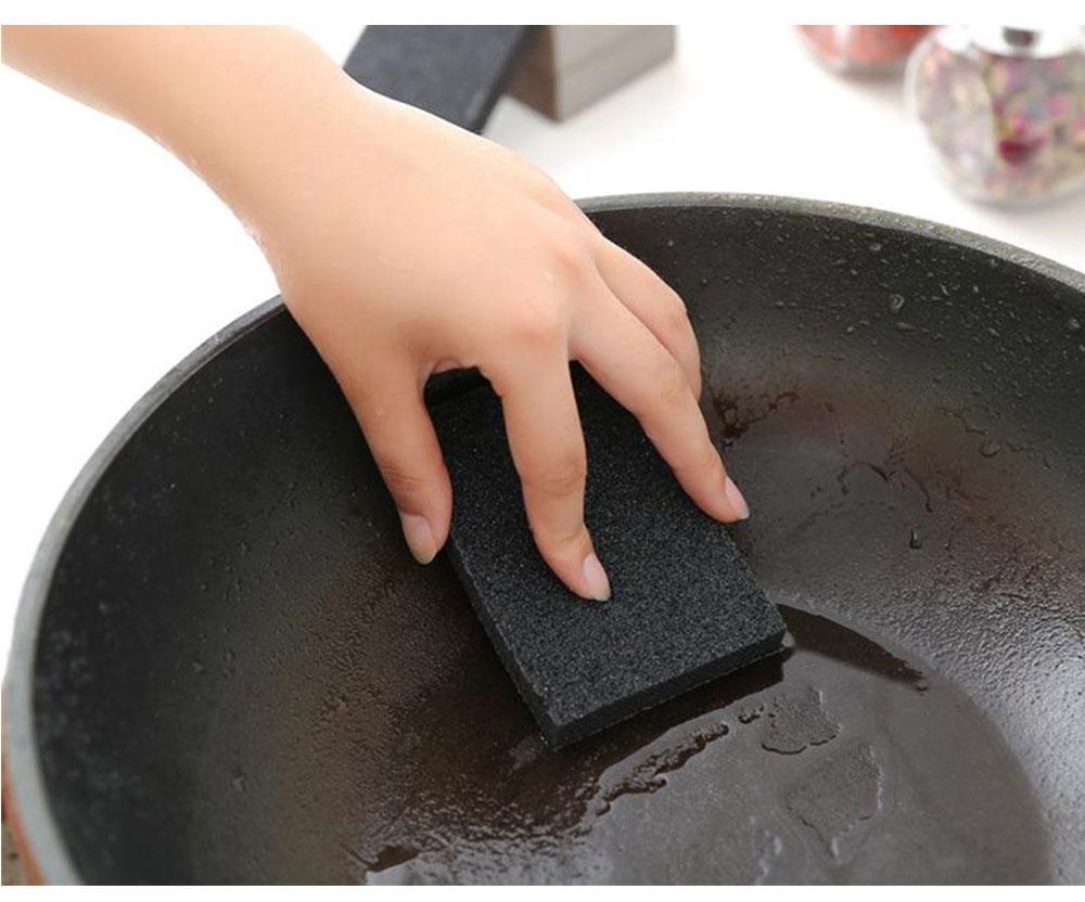 1pc Magic Sponge Cleaner Cotton Emery Sponges for Office Bathroom Kitchen Accessories Dish Cleaning Eraser Magic Sponge