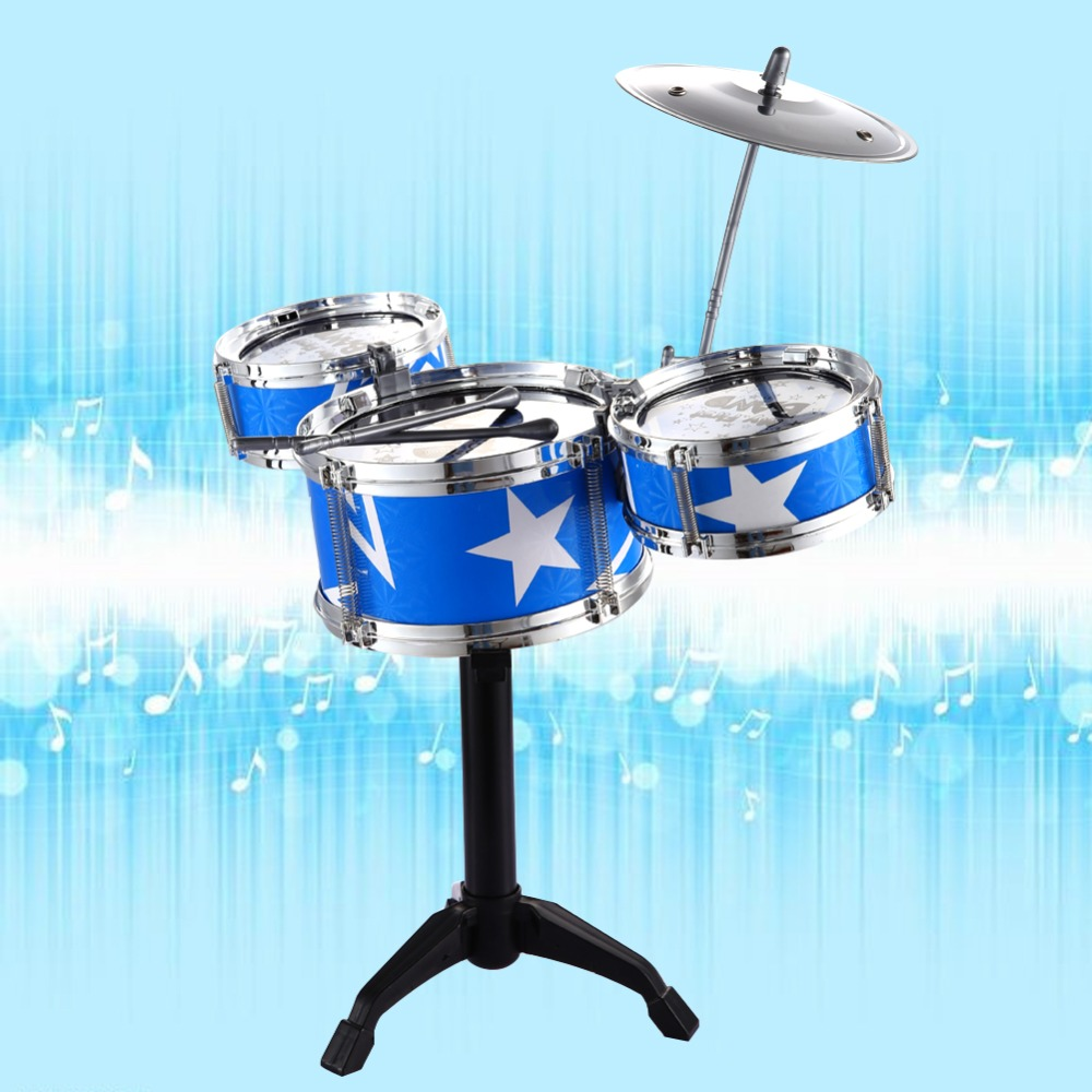 Jazz Drum Kids Early Education Toy Percussion Instrument Great Gift Children Kid s Toys Gift Musical