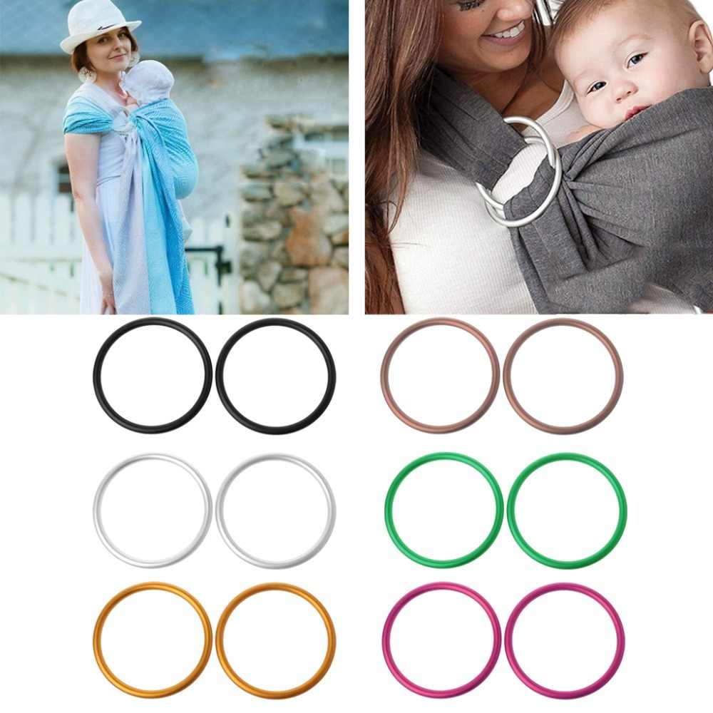 2Pcs/Set Baby Carriers Aluminium Baby Sling Rings For Baby Carriers & Slings High Quality Baby Carriers Accessories