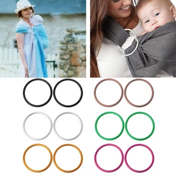 2Pcs/Set Baby Carriers Aluminium Baby Sling Rings For Baby Carriers & Slings High Quality Baby Carriers Accessories фото