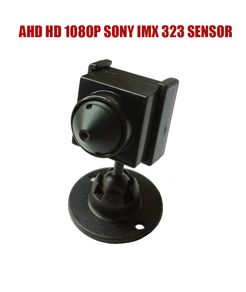 HD Mini Surveillance AHD 1080P/2.0MP SONY IMX 323 Sensor Color CCTV security camera for Home Security video camera free shipping