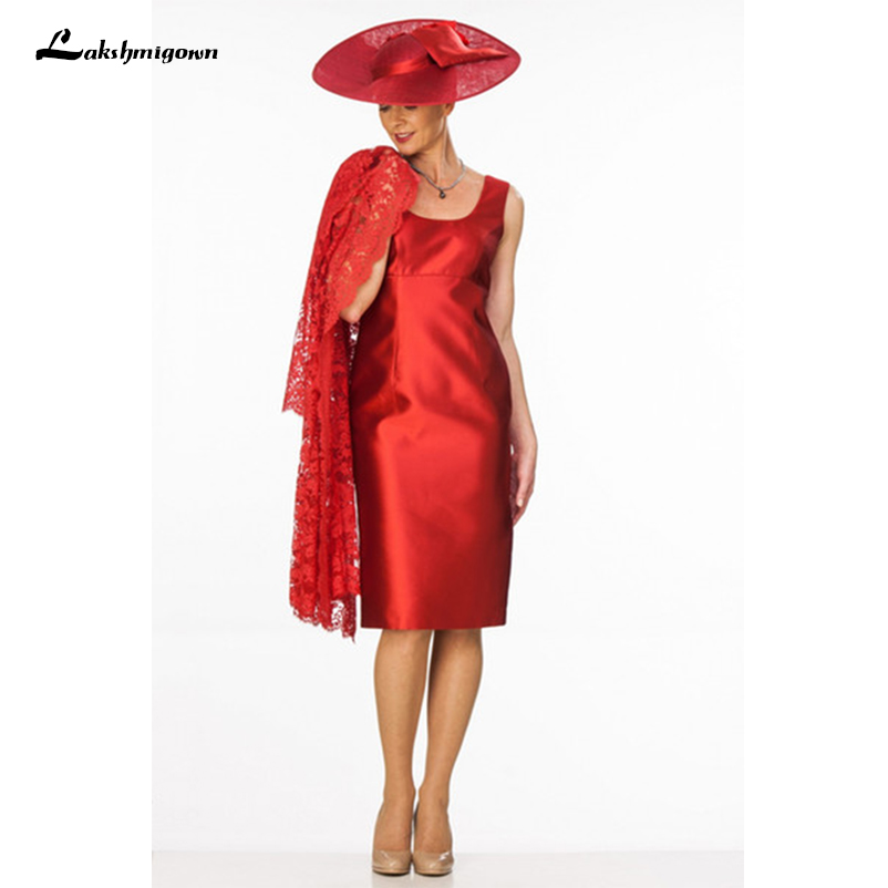 b5795ffb491b8 Red Mother Of The Bride Dresses Suit Formal Wedding Party Dresses ...