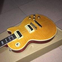 Neue gitarre, e-gitarre! slash gelbe gitarre, OEM e-gitarre, freies verschiffen
