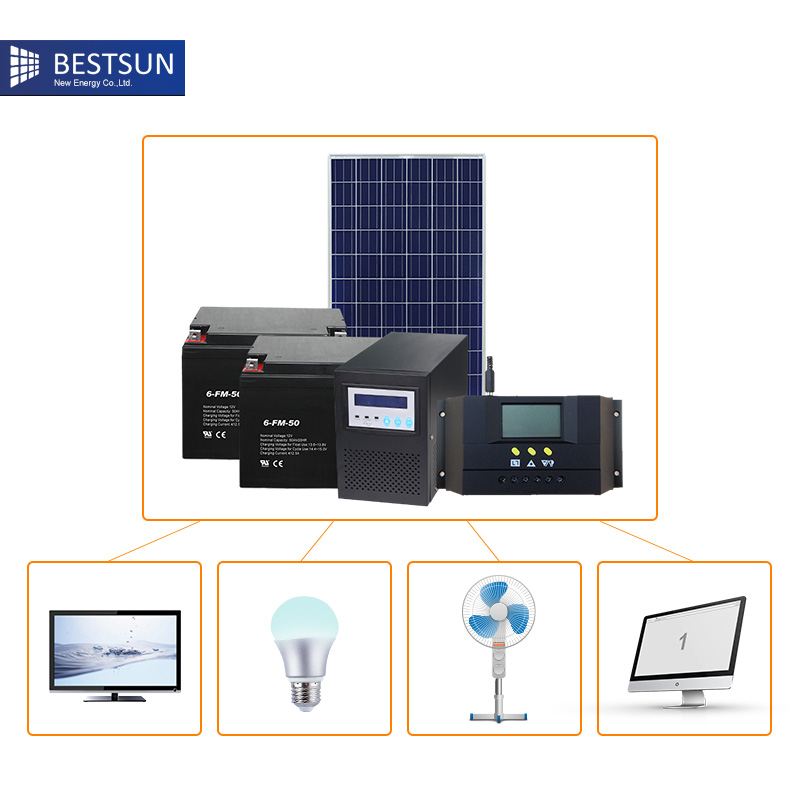 buy 500w solar panel power system for home panneau solaire 12v kit solar 220v. Black Bedroom Furniture Sets. Home Design Ideas