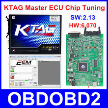 V6.070 V2.13 K TAG Firmware más reciente KTAG K-TAG ECU Herramienta de Programación Versión Maestra No Tokens Limited Multi-idiomas Envío nave
