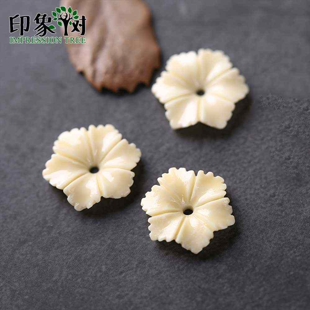 10pcs Resin Flower Bead Cap 14x14mm Six Petals Flat Back 3D Flower Charm Fit For Necklace Bracelet Handmade Jewelry Making 26003