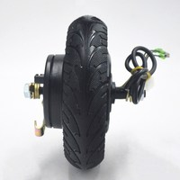 24V 36V 48V 350W Electric Scooter motor Hub Wheel MOTOR Brushless Toothless Scooter Motor for 8inch electrice scooter Wheel