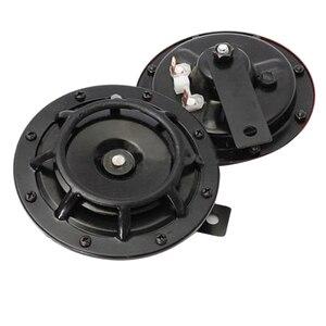 Image 5 - Klaxon de calandre Supertone double (paire) 12V 139dB pour Subaru Impreza WRX Evo neuf (rouge/noir)