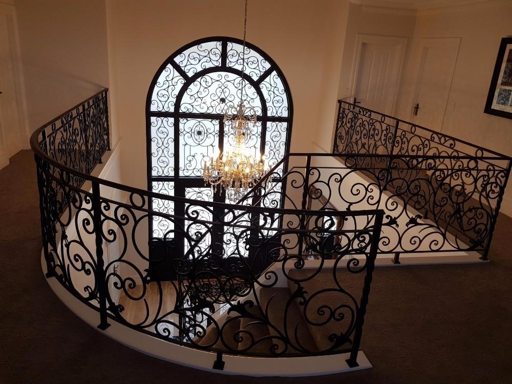 decorative wrought iron interior doors iron doors modern-in Doors from Home Improvement on
