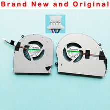 Novo original cpu gpu ventilador de refrigeração cooler para dell alienware 17 r4 r5 ventilador MG75090V1-C060-S9A MG75090V1-C070-S9A