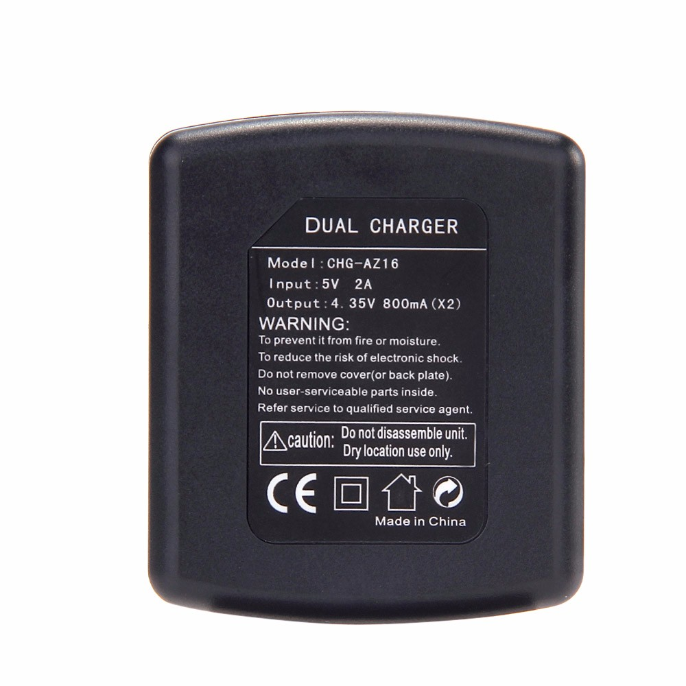 Battery Charger Charging Dock for Xiaomi YI Action Camera 2 Camcorder3