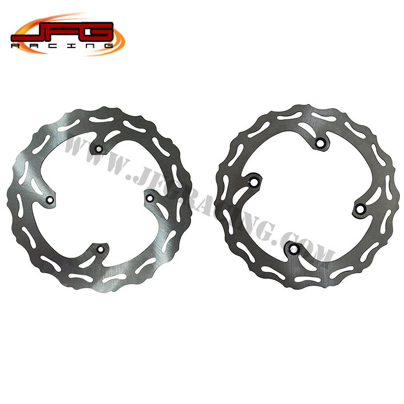 RM RMZ 250 450 MOTORCYCLE WAVE SOLID  BRAKE DISCS SETS BRAKE ROTORS  цены