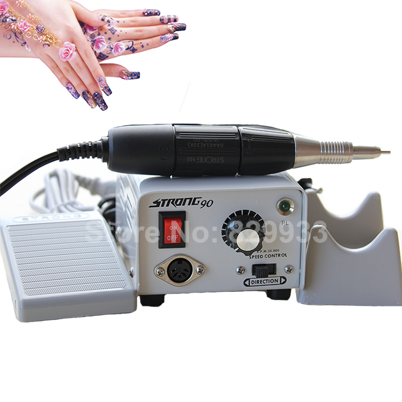 Original Korea Strong 90 + 102 Handpiece Engraving Micromotor Dremel for Dental Lab, Jewellery, Manicure and Beauty Care цены онлайн
