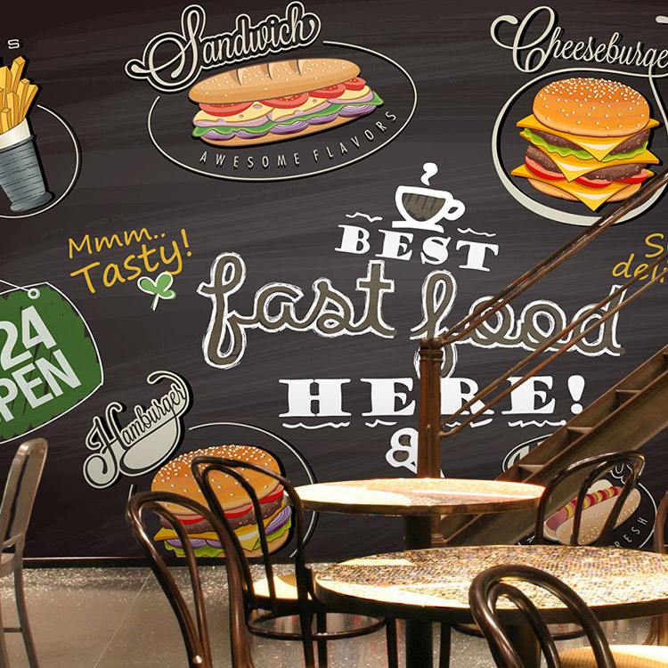 Online Buy Wholesale Wallpaper Fast Food From China Wallpaper Fast Food Wholesalers