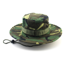 Newest fashion Camouflage Mountaineering Caps for Men Women Summer Man's Round Boonie