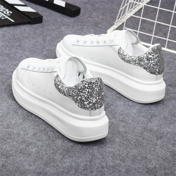 New Fashion Vulcanize Shoes Trainers Women Sneakers Casual Shoes Basket Femme PU Leather Tenis Feminino Zapatos Mujer Plataforma 64