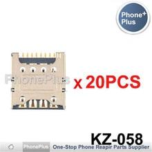 20/50/100PCS For LG G3 S G3 Beat D722 D728 D725 D724 D722K G3 mini Sim Card Slot Tray Holder Socket Reader Repair Part